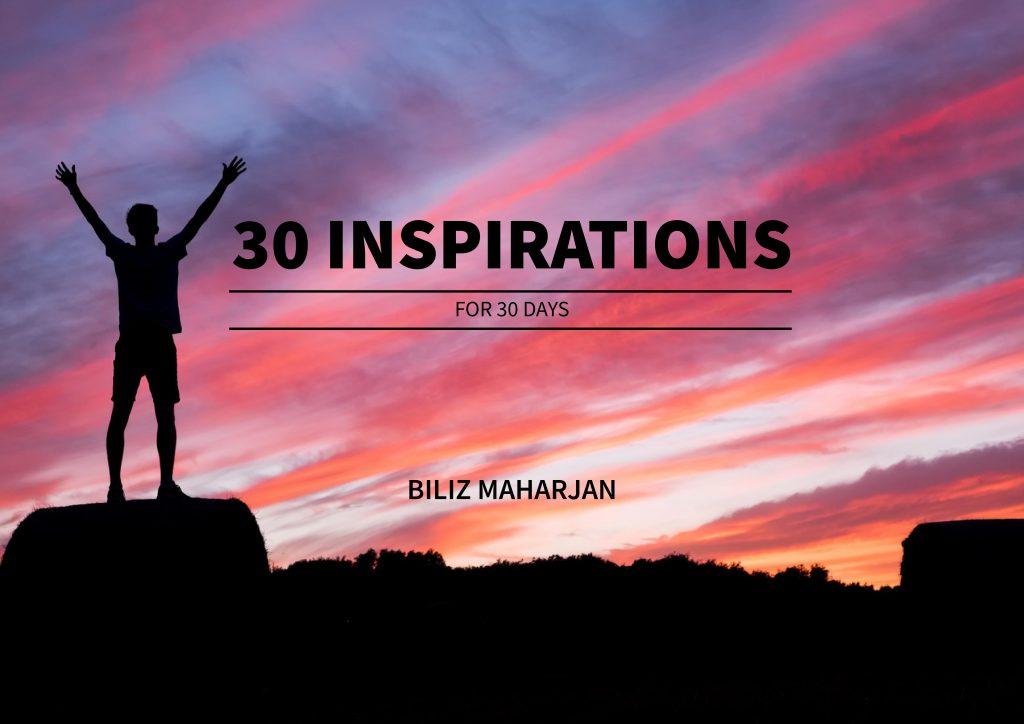 Biliz Maharjan's Ebook - 30 Inspirations