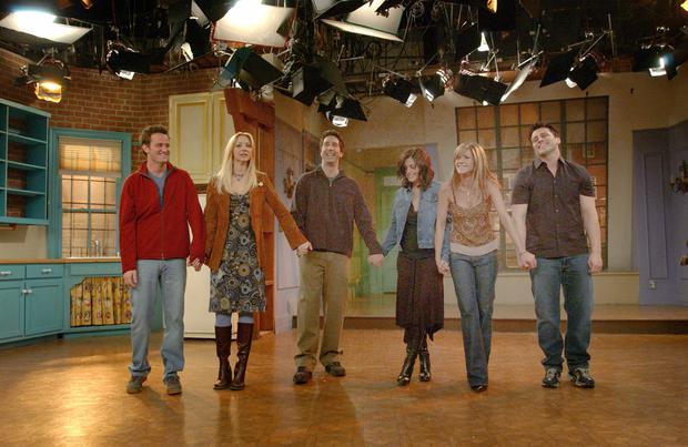 Friends cast take a bow
