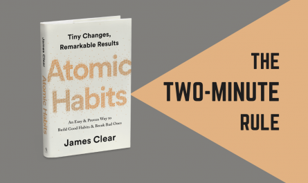 the two-minute rule—atomic habits by james clear